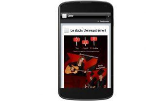 site WordPress compatible-smartphone